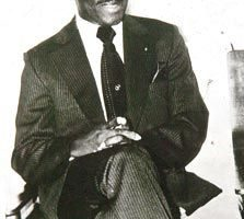 Former Grenadian premier Eric Gairy. Photograph courtesy The Trinidad Express