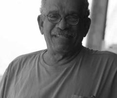 Derek Walcott. Photograph by Abigail Hadeed