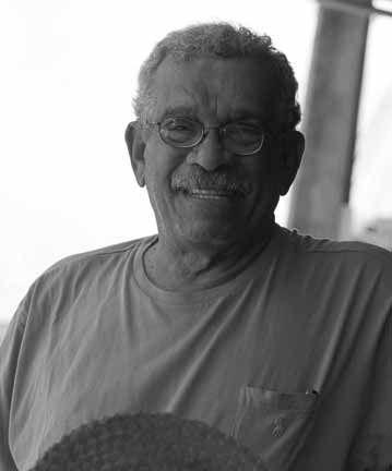 Derek Walcott. Photograph by Abigail Hadeed
