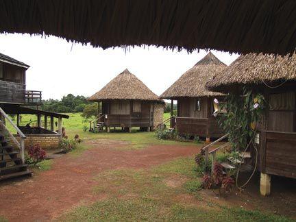 Surama Village Eco-Lodge. Photograph courtesy Surama Village Eco-Lodge