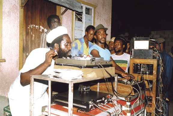 Major Stitch at a YP dance. Photograph courtesy Soul Jazz Records