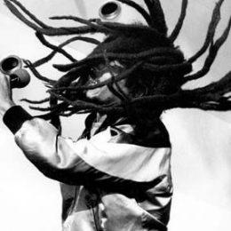 Bob Marley. Photograph by David Corio
