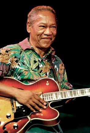 Ernest Ranglin in Montreux in 2004. Photograph by UrbanImage.tv/Adrian Boot