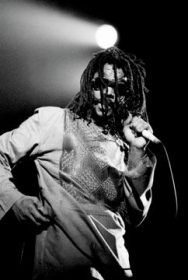 Peter Tosh. Photograph by David Corio