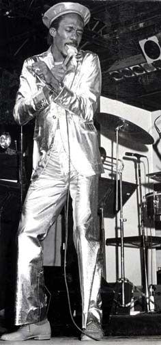 Merchant at Spektakula Calypso Show, 1983. Photograph courtesy Trinidad Express