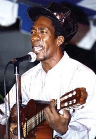 Performing at a Vintage Kaiso show at the Queen`s Park Savannah. Photograph courtesy Trinidad Express