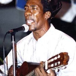 Performing at a Vintage Kaiso show at the Queen`s Park Savannah. Photograph courtesy Trinidad Express