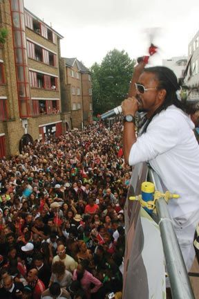 Montano performs at last year`s Notting Hill Carnival in London. Photograph by David Wears