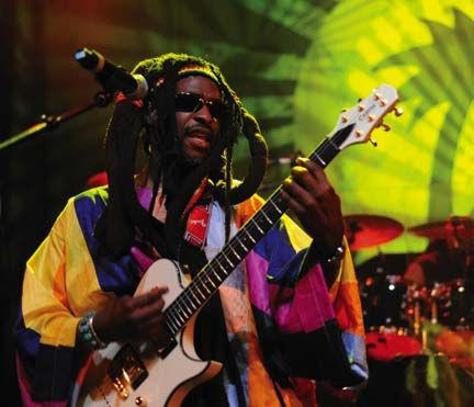 David Hinds of Steel Pulse. Photograph by UrbanImage.tv/Adrian Boot
