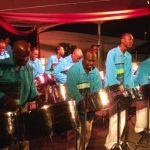 Season's greetings from a steelband