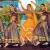 Trinidad and Tobago`s Clico Shiv Shakti dancers performing. Photograph by Robert Taylor