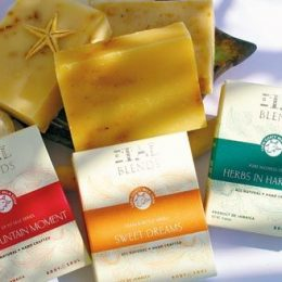 Soaps from Italblends, Jamaica. Photograph courtesy ItalBlends/Susan Lee Queew