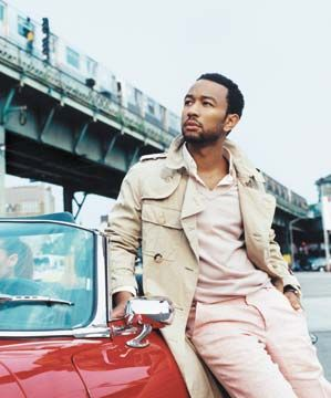 Five-time Grammy Award-winning singer/songwriter John Legend. Photograph courtesy St Lucia Tourist Board
