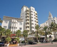 The dramatic Art Deco architecture of South Beach. Photograph by Mark Lyndersay
