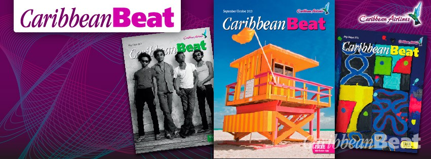 Caribbean Beat cover spread September October 2013