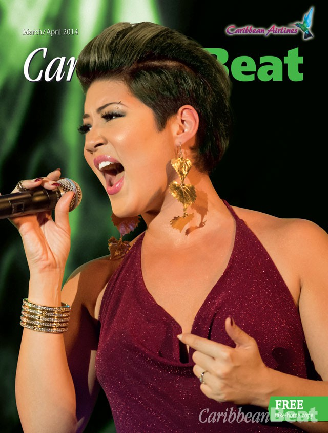 Jamaican singer Tessanne Chin. Photograph by Adrian Creary