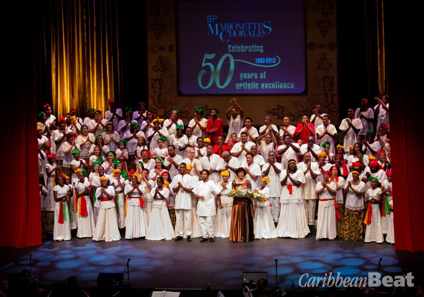 The Marionettes Chorale celebrate their 50th anniversary. Photograph by Butch Limchoy