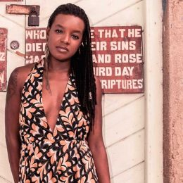 Barbadian writer Shakirah Bourne. Photograph by Marlon James