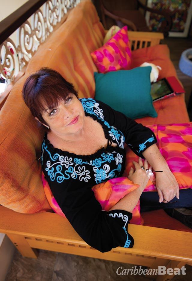 Sharon Millar. Photograph by Mark Lyndersay