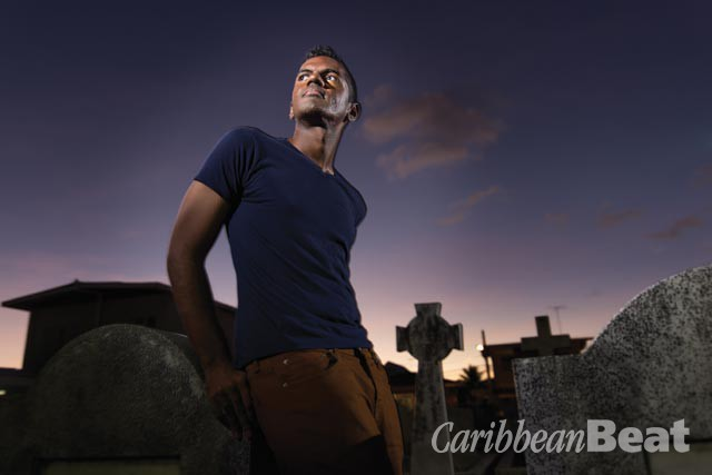 Andre Bagoo. Photograph by Mark Lyndersay