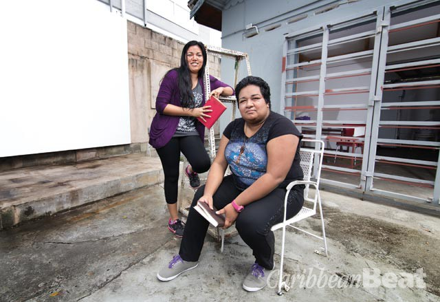 Danielle Boodoo-Fortuné and Shivanee Ramlochan. Photograph by Mark Lyndersay