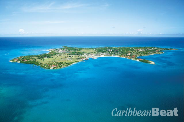 Rosewood Jumby Bay occupies its own three-hundred-acre island. Photograph courtesy Rosewood Jumby Bay
