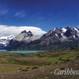 The granite monoliths known as the Torres del Paine lend their name to Chilean Patagonia's spectacular national park. Photograph by Georgia Popplewell