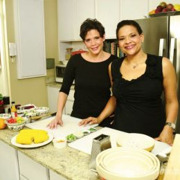 The Rousseau sisters, Michelle and Suzanne. Photographs courtesy Two Sisters and a Meal