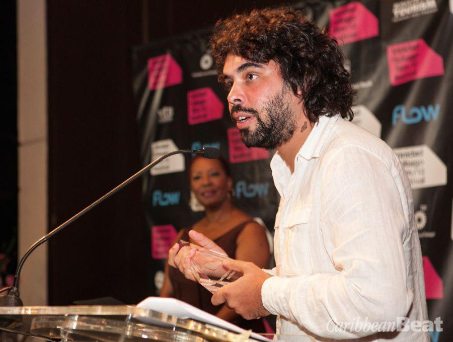 Lechuga at the 2013 Trinidad and Tobago Film Festival. Photograph courtesy Trinidad+Tobago Film Festival