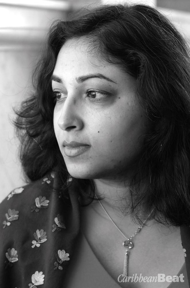 Gaiutra Bahadur. Photograph by Ulrike Wilson