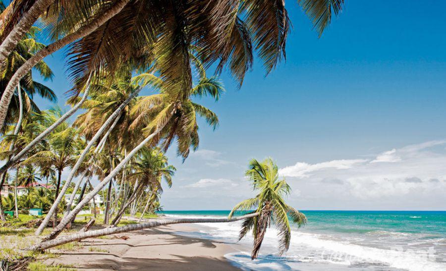 The beach at Sauteurs, near Caribs' Leap. Photograph by PHB.CZ (Richard Semik)/Shutterstock.com