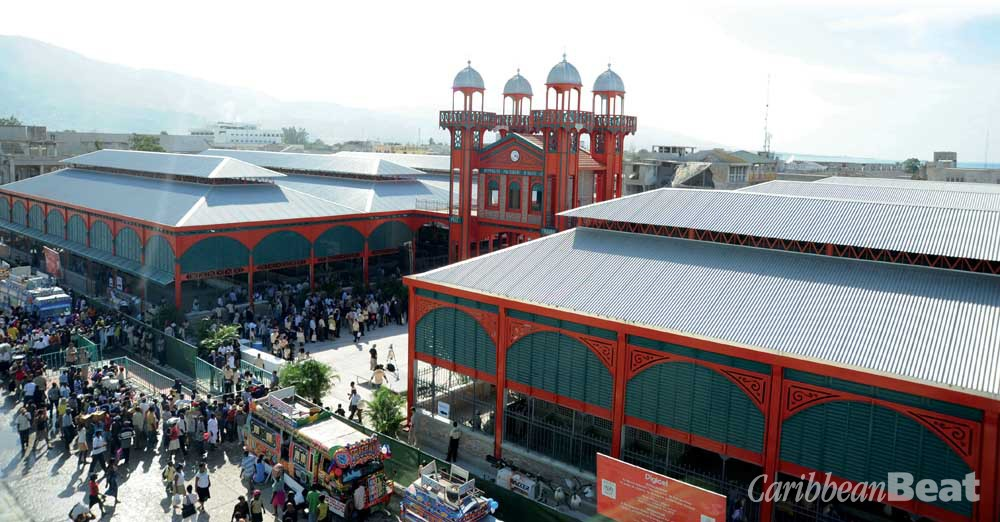 The restored Marché en Fer. Photograph courtesy Digicel Group