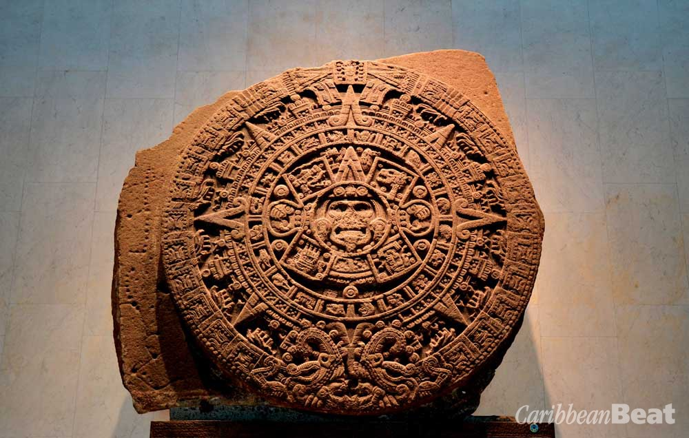 The massive Aztec sunstone is a treasure among treasures in Mexico's National Museum of Anthropology. Photograph by Trappy76/shutterstock.com