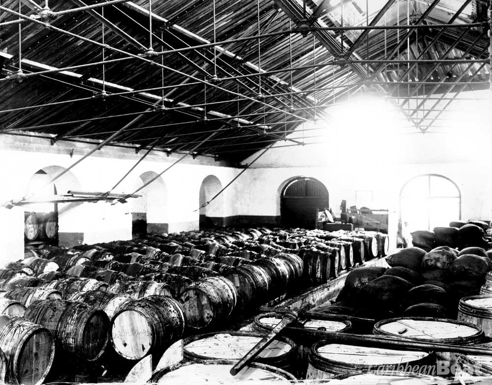 Photograph courtesy Mt Gay Rum Distilliers
