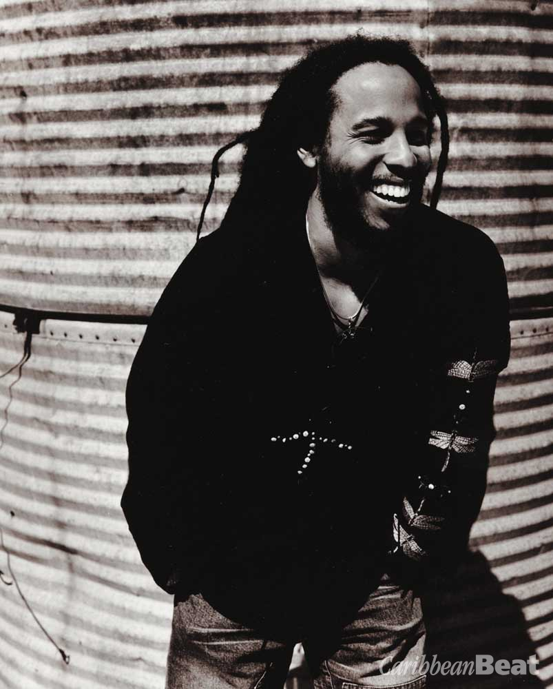 Ziggy Marley. Photograph courtesy Private Music