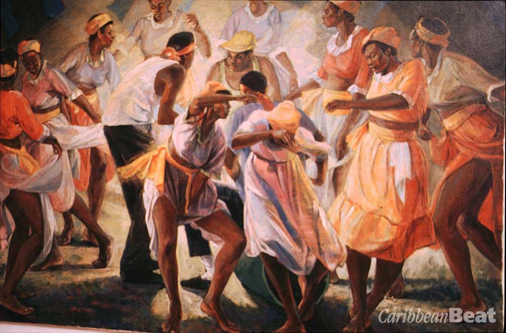 Mento Dance. Photograph by Anton Modeste