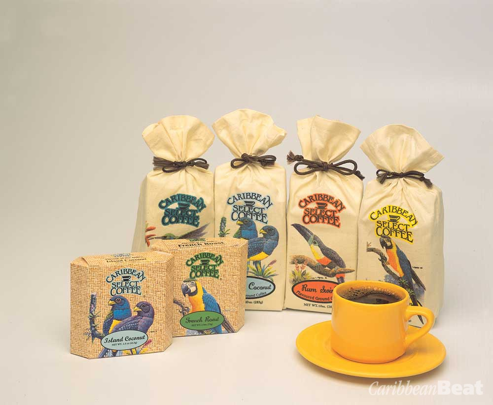 Hong Wing Caribbean Select Coffees — the purchase of four bags of this fine range via online retail entitles you to two bags free! www.hongwingcoffee.com