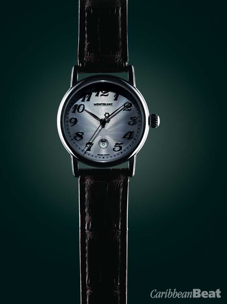 Mont Blanc- the age-old tradition of creating masterpieces through great care and painstaking attention to detail has been revived. Available at Stechers