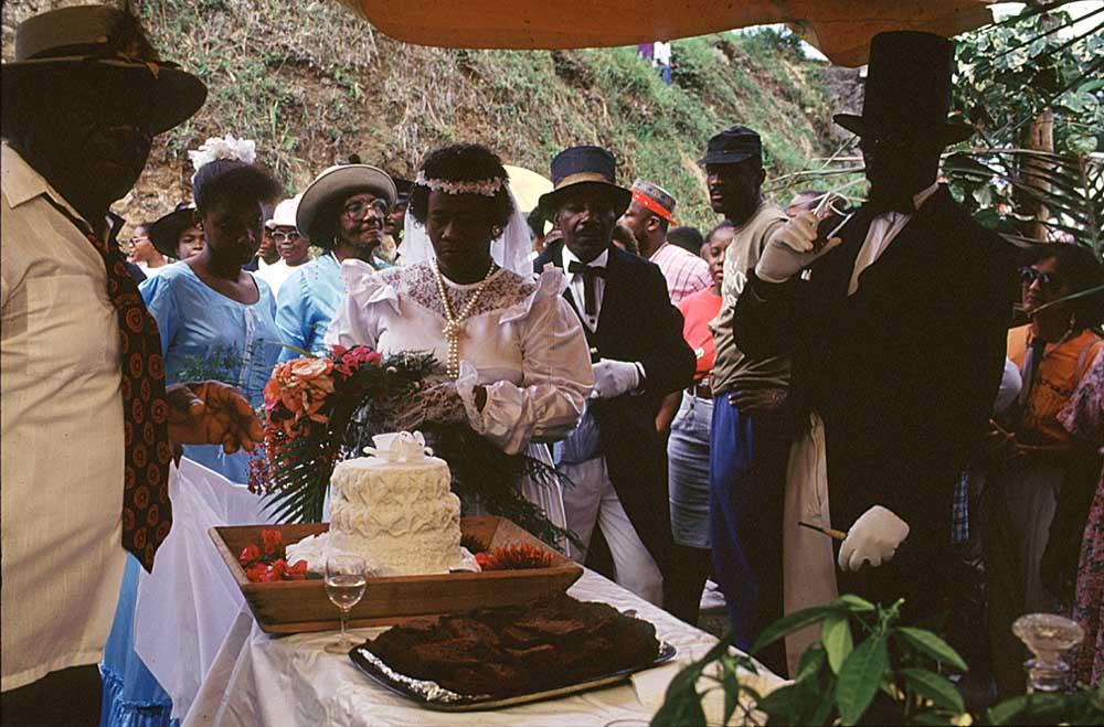 Old-Time Wedding, Tobago Heritage Festival. Photograph by Noel Norton