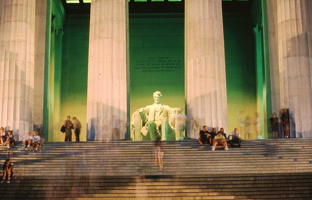 The Lincoln Memorial. Photograph by J Mcguire/Washington DC Convention & Tourism Corporation