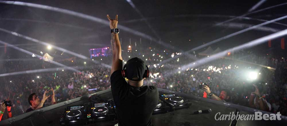 Photograph courtesy Aruba Electric Festival