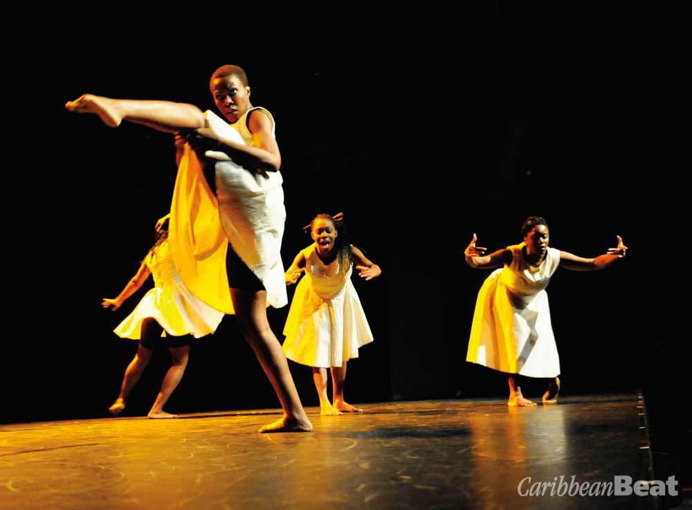 Troublefree (2012), choreographed by Anika Marcelle. Photograph by Karen Johnstone