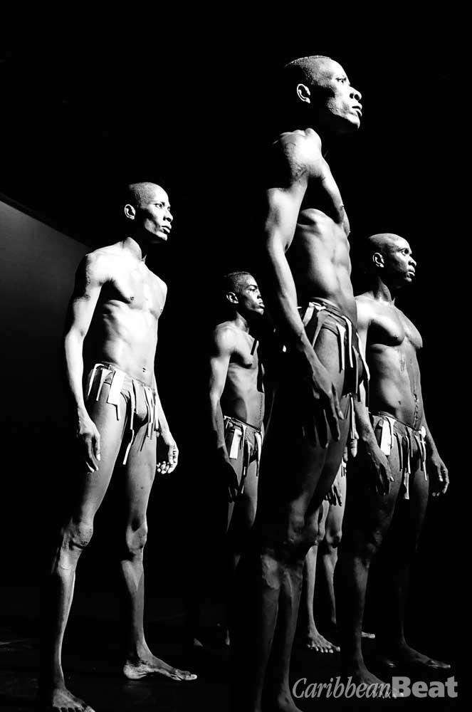 Man (2012), choreographed by Heather Henderson-Gordon. Photograph by Karen Johnstone