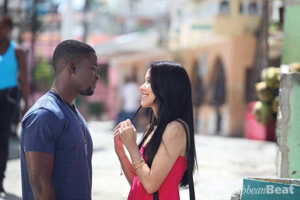 Janvier (James Saintil) and Jocelyn (Akari Endo), the film's history-crossed lovers. Photograph courtesy Leticia Tonos