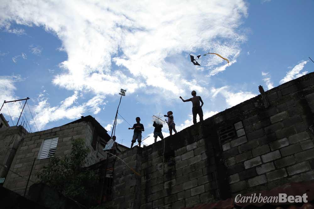 Children in the barrio of Cristo Rey. Photograph courtesy Leticia Tonos