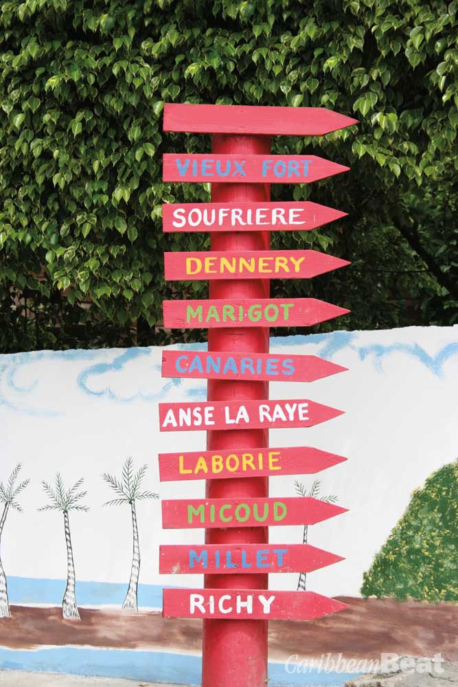 The names of St Lucia's villages form a poetic litany. Photograph ©GRAFFIZONE/ISTOCK.COM