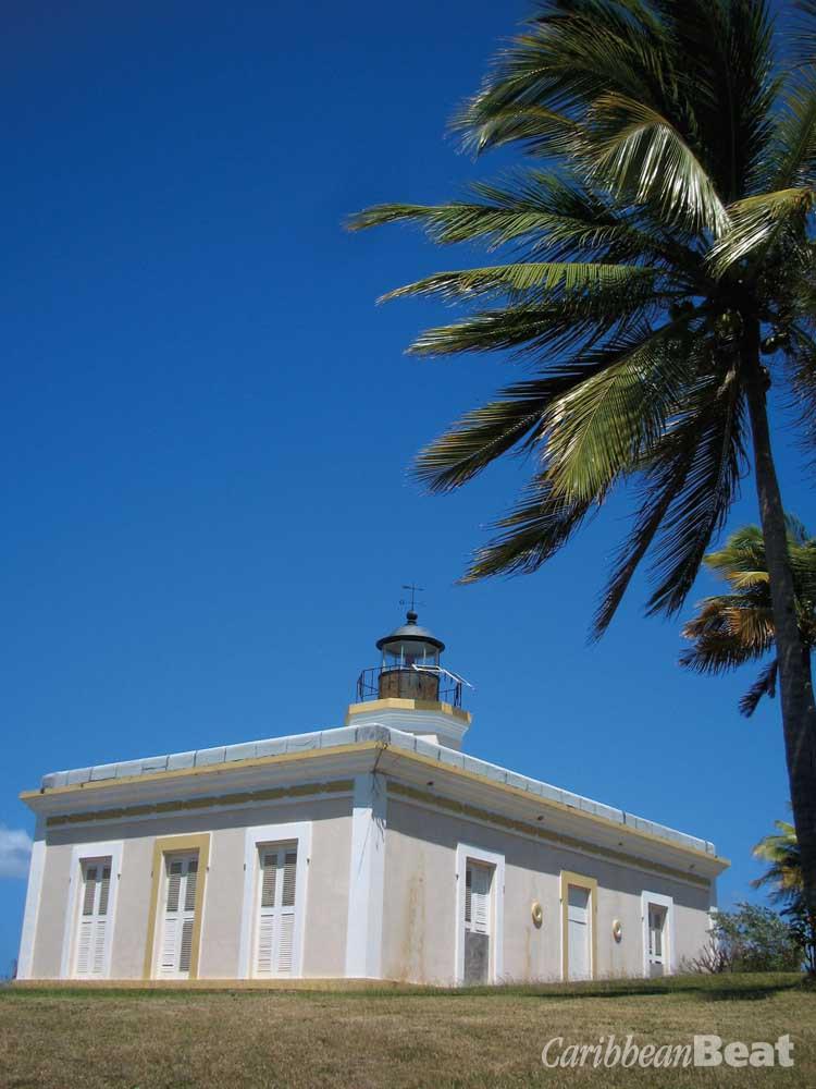 The lighthouse at Punta Mulas is a landmark in Isabel Segunda, capital of Vieques. Photograph by Nicholas Laughlin