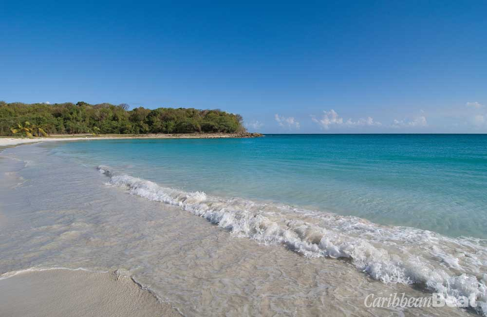 Playa Caracas, also known as Red Beach, was inaccessible to locals and visitors during the decades when Vieques was a US Navy base. Photograph ©ISTOCK.COM/JRROMAN