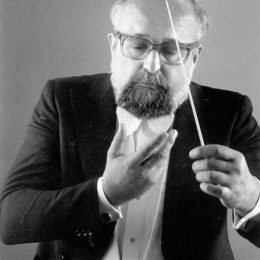 The legendary Polish composer Krzysztof Penderecki is the music director of the Casals Festival. Photograph courtesy Festival Casals de Puerto Rico/Steve Niedorf