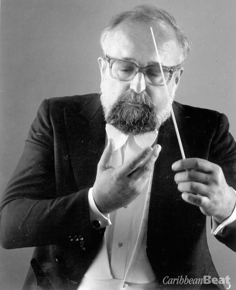The legendary Polish composer Krzysztof Penderecki is the music director of the Casals Festival. Photograph courtesy Festival Casals de Puerto Rico/Steve Niedorf